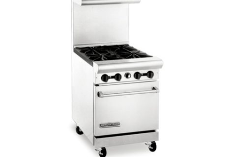 Gas Range with Oven Below