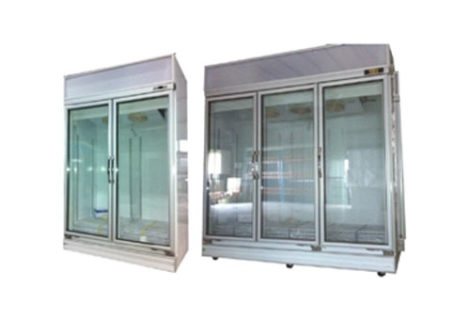 Glass Door Upright Display Freezer & Chiller
