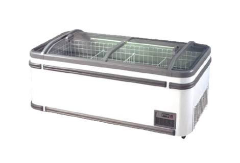Display Island Chiller Cum Freezer