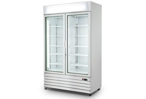Upright Ice Cream Display Freezer