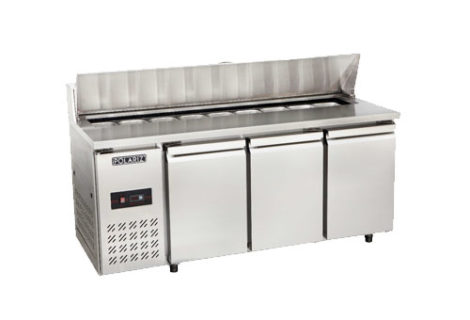 S/S Pizza Undercounter Chiller